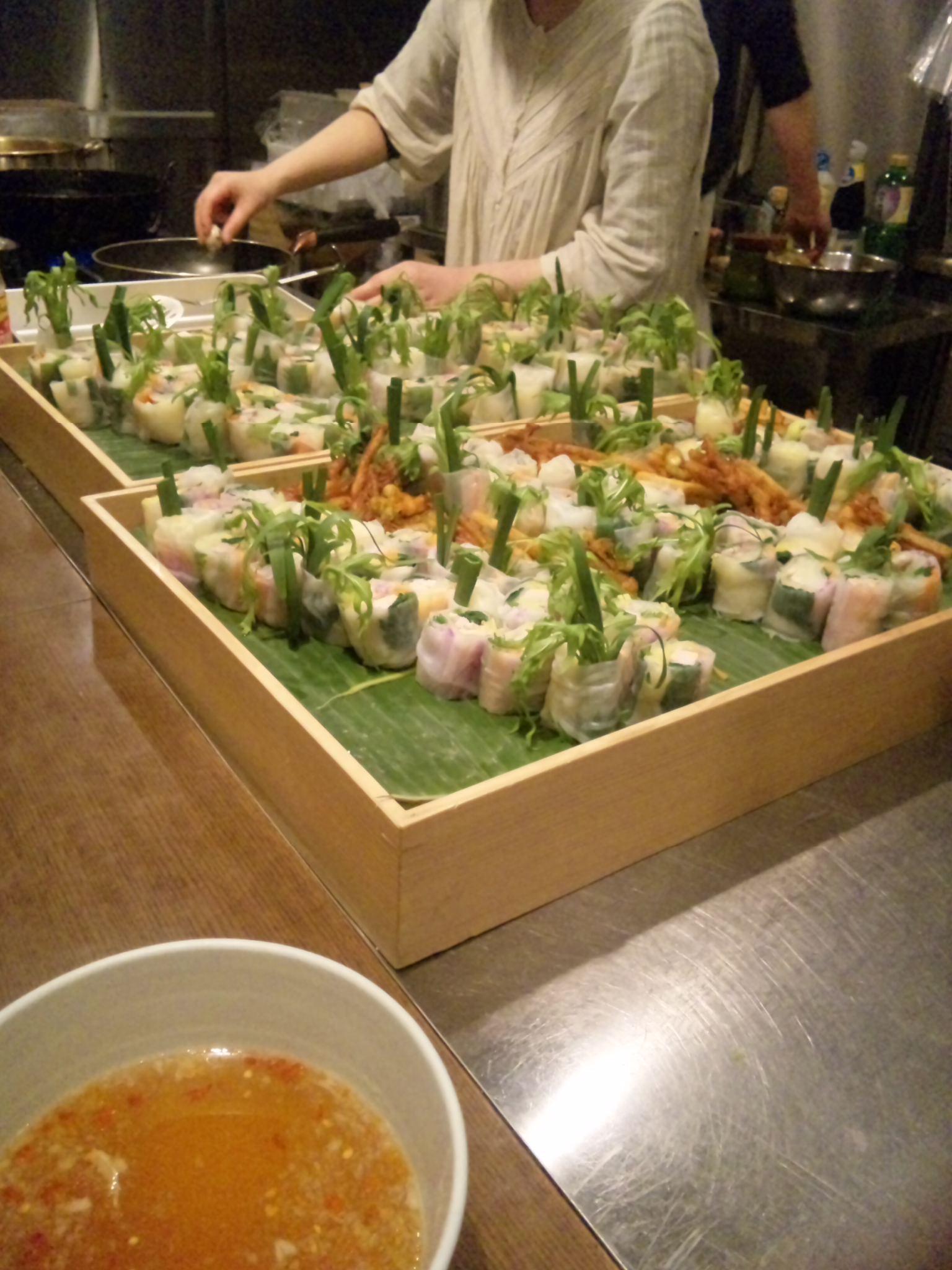 東京で岩手の食材、しかもタイ料理